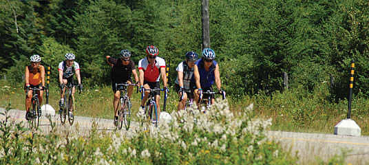 Bicycle training camp (Montérégie and the Townships)
